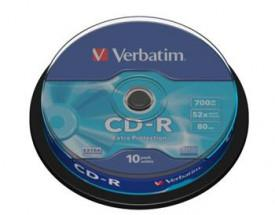 Verbatim CD-R 700MB 52x, 10ks (CD-R)